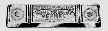Government Genuine Babbitt Metal